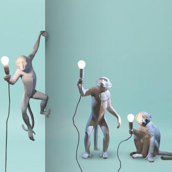 Seletti designová nástěnná svítidla Monkey Nástěnná
