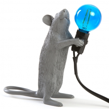 Seletti designové stolní lampy Mouse Lamp Sitting