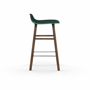 Normann Copenhagen designové barové židle Form Barstool Wood 65cm