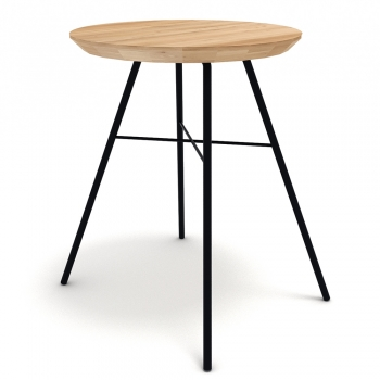Designové odkládací stolky ETHNICRAFT Disc Stool