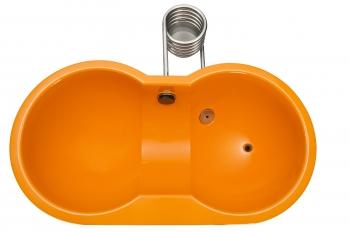 Weltevree designové bazény Dutchtub Loveseat