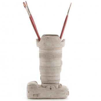 Seletti designové vázy Concrete Camera #1