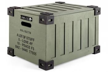 Designové pořadače SELETTI Surplus storage system - Diesel Trunk
