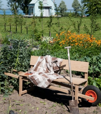 Weltevree designové lavice Wheelbench