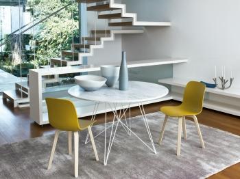 Magis designové židle Substance Chair Wood
