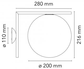 Flos designová nástěnná svítidla IC Lights Wall 1