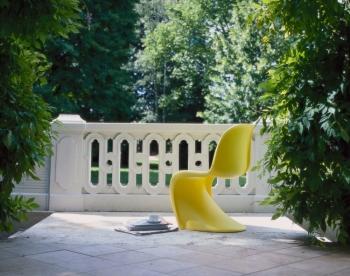 Výprodej Vitra židle Panton Chair černá