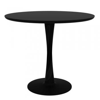 Ethnicraft designové jídelní stoly Torsion Dinning Table (průměr 70 cm)