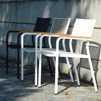 Jan Kurtz designové zahradní židle Lux Alu