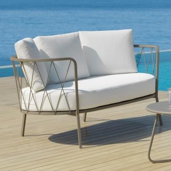 Jan Kurtz designové zahradní sedačky Sunderland