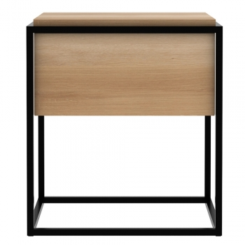 Ethnicraft designové noční stolky Monolit Bedside Table