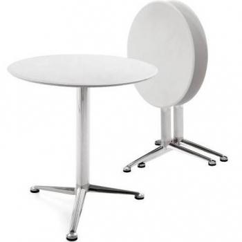 Infiniti designové kavárenské stoly 3-Pod folding (průměr 70 cm)