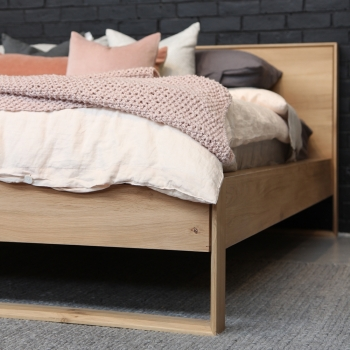 Ethnicraft designové postele Nordic
