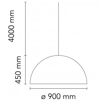 Flos designová závěsná svítidla Skygarden S1