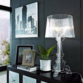 Kartell designové stolní lampy Bourgie