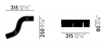 Vitra designové pořadače S-Tidy