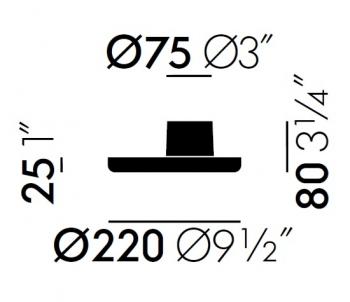 Vitra designové pořadače O-Tidy