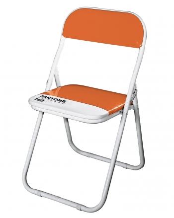 Výprodej SELETTI skládací židle Pantone Chair (oranžová)
