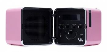 Výprodej Brionvega designové rádio Ts522D (růžová)