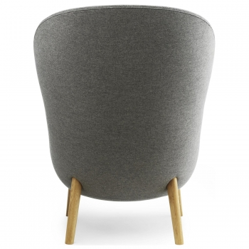 Normann Copenhagen designová křesla Hyg Lounge Chair High Wood
