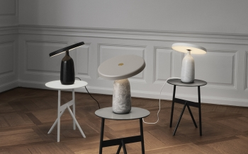 Normann Copenhagen designové odkládací stolky Stock Table