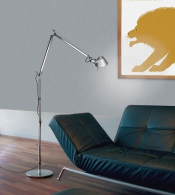 Artemide designové stojací lampy Tolomeo Micro Terra