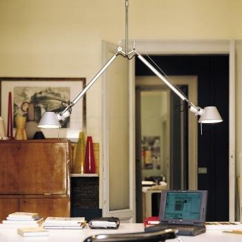 Artemide designová závěsná svítidla Tolomeo Sospensione Due Bracci