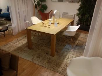 Ethnicraft designové jídelní stoly Slice Dining Table (140 x 76 x 80 cm)