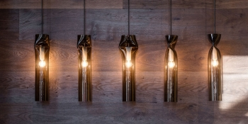 Výprodej Lasvit designová závěsná svítidla Press Pendant Lamp (kouřové sklo)