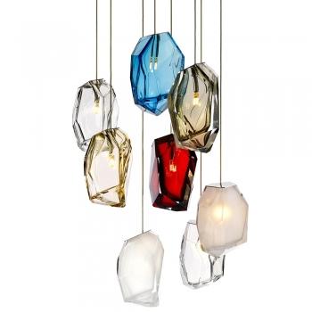 Lasvit designová závěsná svítidla Crystal Rock