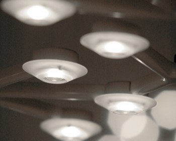 Artemide designová závěsná svítidla Led Net Circle Sospensione