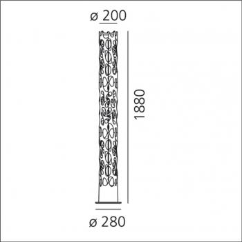Artemide designové stojací lampy New Nature