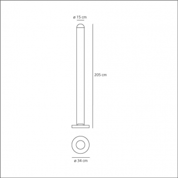 Artemide designové stojací lampy MetaColor
