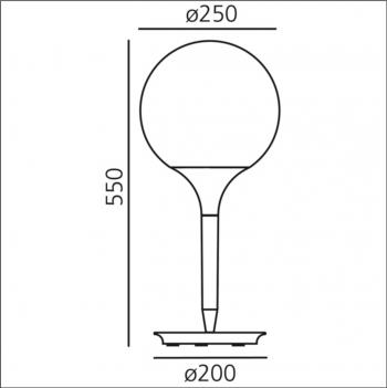 Artemide designové stolní lampy Castore Tavolo 14