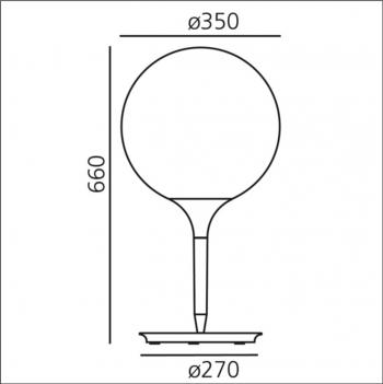Artemide designové stolní lampy Castore Tavolo 35
