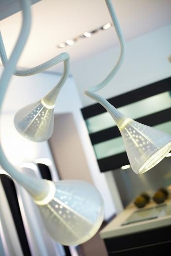 Artemide designová závěsná svítidla Pipe Sospensione