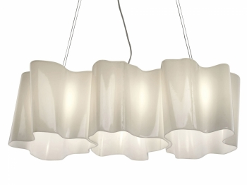 Artemide designová závěsná svítidla Logico Mini Sospensione 3 In Linea