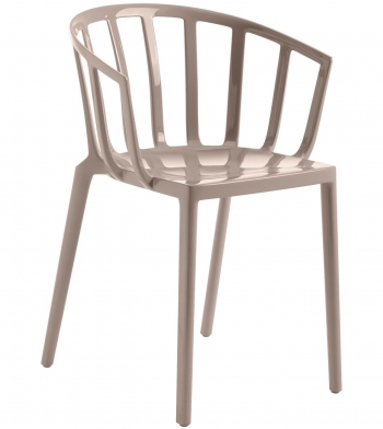 Výprodej Kartell designové židle Venice (černá)