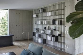 Mogg designové nástěnné knihovny Metrica C wall
