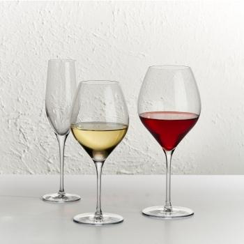 Nude designové sklenice na bílé víno Vinifera