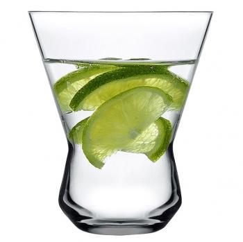 Nude designové sklenice na vodu Rhythm