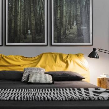 Mogg designové postele Big Hug (pro matraci 160 x 200 cm)