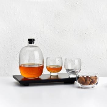 Nude designové sklenice na whisky Malt