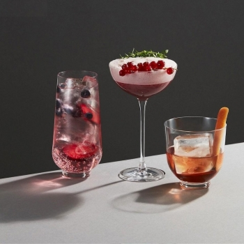 Nude designové sklenice na šampaňské Hepburn
