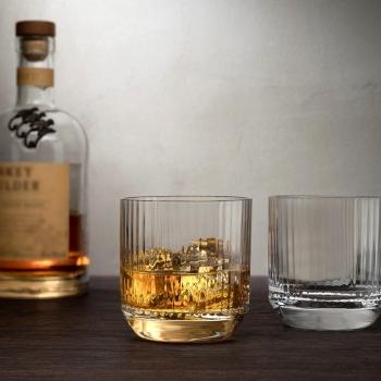 Nude designový set 4 sklenic na whisky SOF Big Top