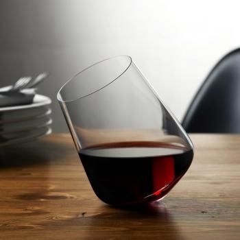 Nude designový set 2 sklenic na víno Balance