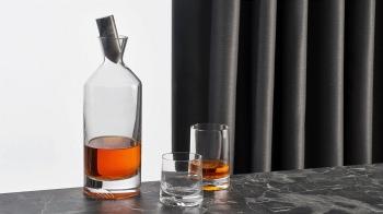 Nude designové sklenice na whisky Alba Low