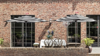 Fatboy designové zahradní slunečníky Stripesol