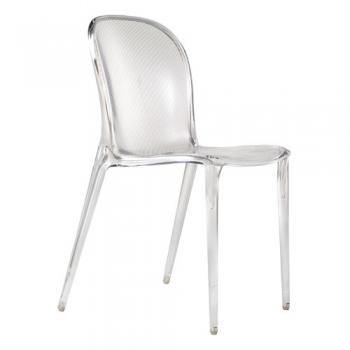 Výprodej Kartell designové židle Thalya (čirá)