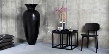 Výprodej Norr 11 designová váza Jar Seven (černá)